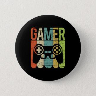 Gamer-Spiel-Prüfer Runder Button 5,7 Cm