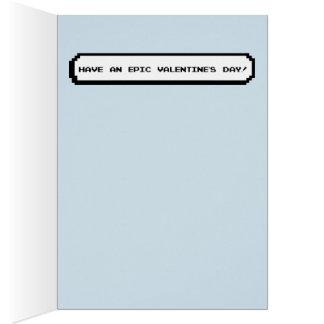 Gamer-Valentinsgruß - haben Sie einen epischen Grußkarte
