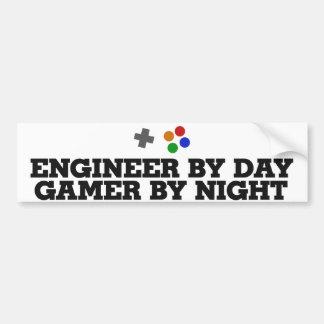 Gameringenieur Auto Sticker
