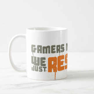 Gamers die nie uns gerade Respawn Kaffeetasse