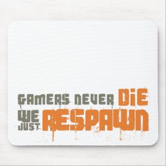 Gamers die nie uns gerade Respawn Mauspads