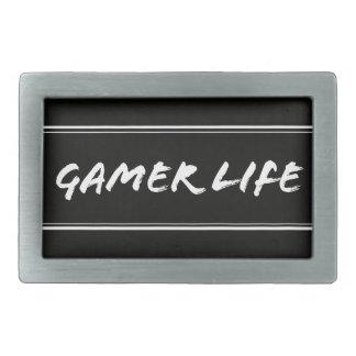 Gamers Rechteckige Gürtelschnalle