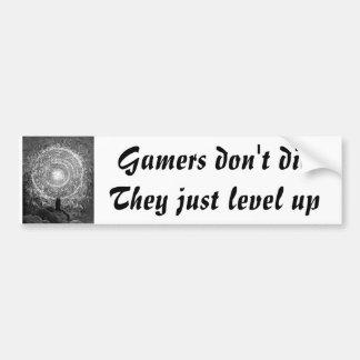 Gamers sterben nicht autosticker