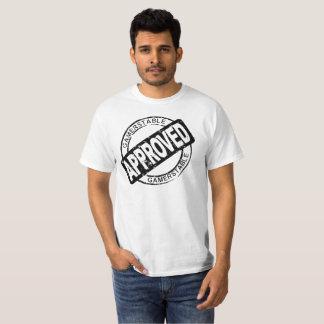 Gamerstable genehmigte Schwarzes T-Shirt