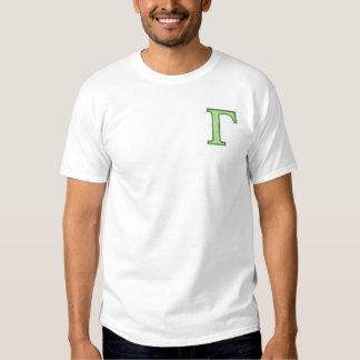 Gamma Besticktes T-Shirt