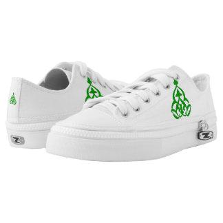 Gamma-Gamma-Chi-BlumenWappen-Turnschuhe Niedrig-geschnittene Sneaker
