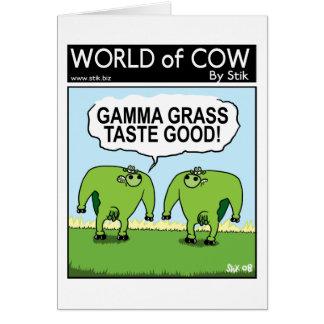 Gamma-Kühe Karte