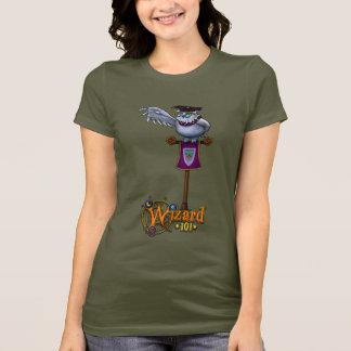 Gamma Wizard101 das Eulen-Shirt T-Shirt