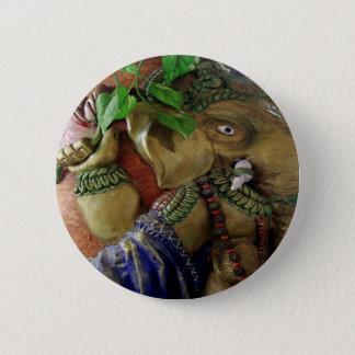 Ganapati Ganesh Runder Button 5,7 Cm