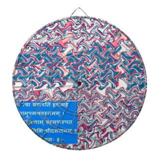 Ganapati Sanskrit Dartscheibe