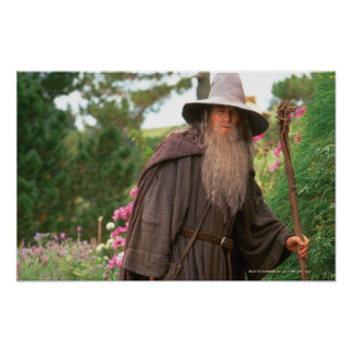 Gandalf mit Hut Poster