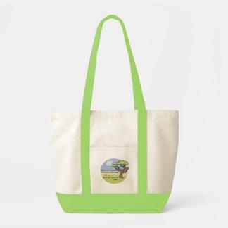 Gandhi Erdzitat-Taschen-Tasche