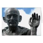 Gandhi Zitatkarte - seien Sie die Änderung… Karte