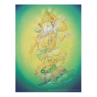 Ganesh Aura Postkarte