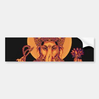 Ganesh - Entferner von Hindernissen Autoaufkleber