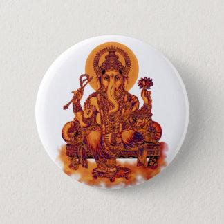Ganesh - Entferner von Hindernissen Runder Button 5,1 Cm