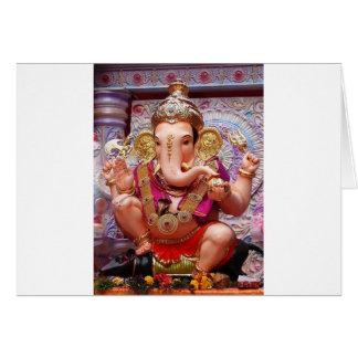 Ganesh Ganesha asiatischer Elefant-Gottheit Karte