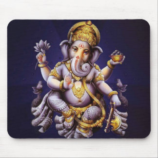 Ganesh Ganesha asiatischer Elefant-Gottheit Mauspads