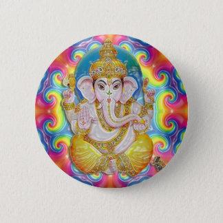 Ganesh- GoodLuck Knopf Runder Button 5,7 Cm