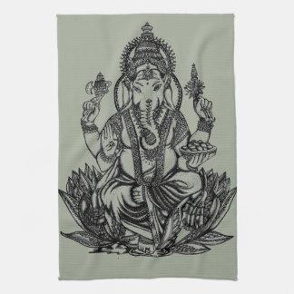 Ganesh Illustration Geschirrtuch