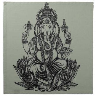 Ganesh Illustration Serviette