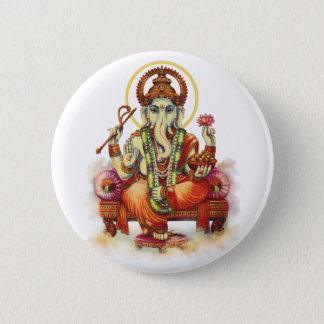 Ganesh Knöpfe Runder Button 5,7 Cm