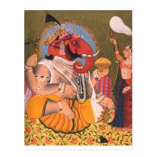 Ganesh Postkarte
