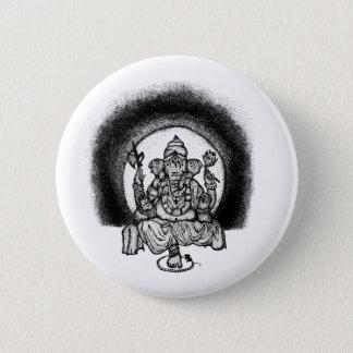 ganesh runder button 5,7 cm