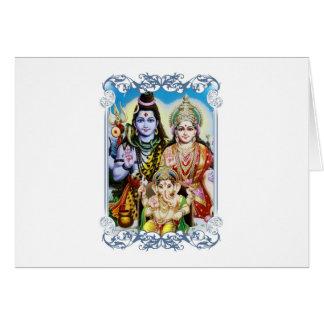 Ganesh, Shiva und Parvati, Lord Ganesha, Durga Karte