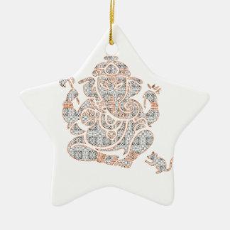 Ganesh Stärke Keramik Ornament
