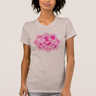 Ganesh und Lotos - Damen T-Shirt