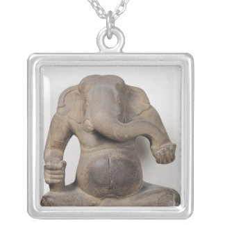 Ganesh, von Tuol Pheak Stämmen Versilberte Kette