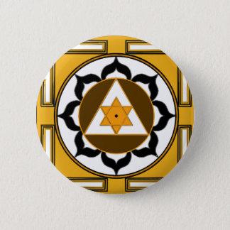 Ganesh Yantra Runder Button 5,7 Cm