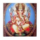 Ganesha (गणेश) indischer Elefant Keramikfliese