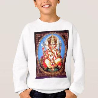 Ganesha (गणेश) indischer Elefant Sweatshirt