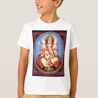 Ganesha (गणेश) indischer Elefant T-Shirt