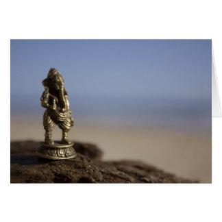 Ganesha am Strand Karte