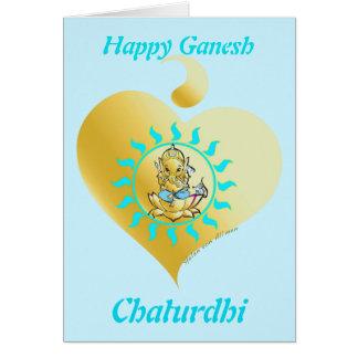 Ganesha Chaturthi Karte