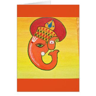 Ganesha der Entferner aller Hindernisse Karte