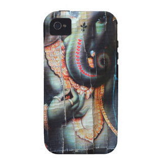 Ganesha Elefant hindischer Erfolgs-Gott Case-Mate iPhone 4 Hülle