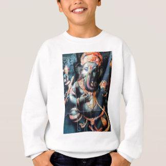 Ganesha Elefant hindischer Erfolgs-Gott Sweatshirt