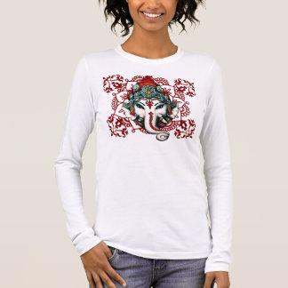 GANESHA, hindische Gottheit Langarm T-Shirt