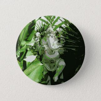 Ganesha Knopf Runder Button 5,1 Cm