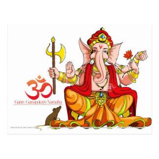 Ganeshji Postkarte