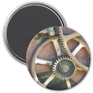 Gang-Bild-Magnet Runder Magnet 7,6 Cm
