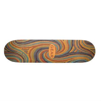 GANG Entwürfe 21,6 Cm Skateboard Deck