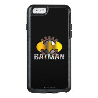 Gang-Hintergrund-Logo Batmans | OtterBox iPhone 6/6s Hülle