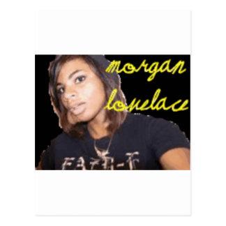 Gang Morgans Lovelace Postkarte