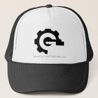 Gang schließen Hutg-Logo an Truckerkappe
