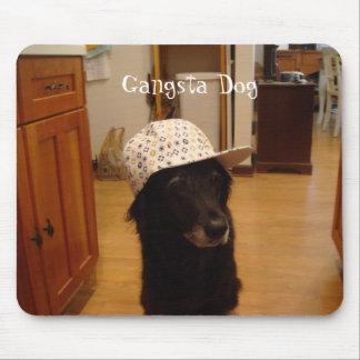 Gangsta Hund Mauspads